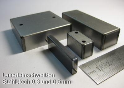 Stahlblech0,3 und 0,5mm